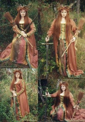 Trish Causey Autumn Queen Collage