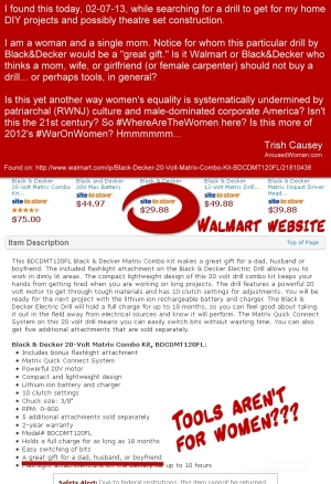 Sexism-Walmart-Drill-Carpentry-Construction-Tools
