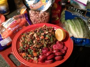 Franken-Salad-Turkey-Sausage
