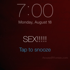 schedule tantric sex alarm arousedwoman 2014