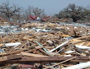 Hurricane Katrina Damage in Mississippi
