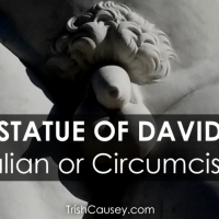Statue of David: Intact Italian or Circumcised Jew?