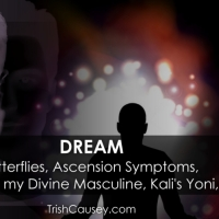 DREAMS: Butterflies, Ascension Symptoms, Children with my Divine Masculine, Kali's Yoni, & More