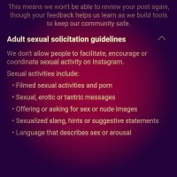Fuck you, Instagram & Facebook. You can shove your censorship.